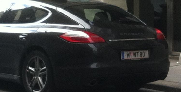 Der Porsche von Friedrich Scheck