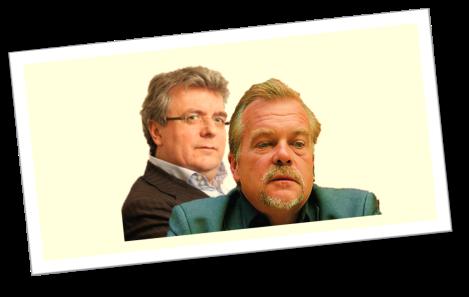 """Michael """"Mike"""" Lielacher und Friedrich Scheck"""