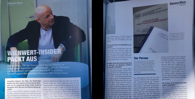 Hannes Muss erklärt Wienwert-Skandal am Rennweg